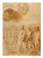 Christ's Command to Saint Peter, Feed My Sheep Fine Art Print