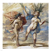 Apollo and Daphne Fine Art Print