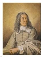 Portrait of M. Quatrehomme du Lys Fine Art Print