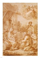 The Adoration of the Magi Fine Art Print