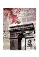 Paris in Bloom II - Mini Fine Art Print