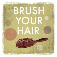 Brush your Hair-Mini Fine Art Print