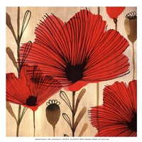Wild Poppies II - Mini Fine Art Print
