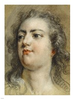 Head of King Louis XV Fine Art Print