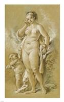 Venus and Cupid Fine Art Print