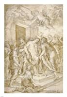 The Entombment Fine Art Print
