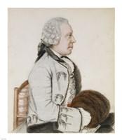Portrait of Charles-Benjamin de Langes Fine Art Print