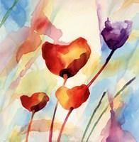 Tilt Tulips I Fine Art Print