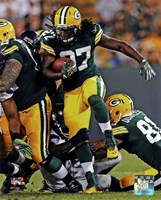 Eddie Lacy with the ball 2013 Fine Art Print
