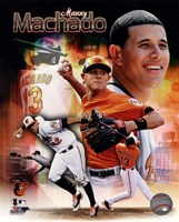 Manny Machado 2013 Portrait Plus Fine Art Print