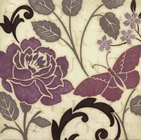 Perfect Petals I Lavender Fine Art Print