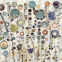 Ocean Garden I Square Framed Print