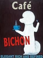 Cafe Bichon Fine Art Print