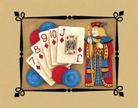Ante Up Fine Art Print