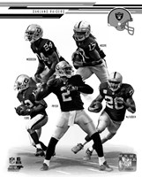 Oakland Raiders 2013 Team Composite Fine Art Print