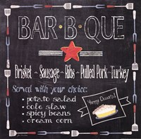 Bar B Que Framed Print