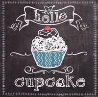 Hello Cupcake Fine Art Print