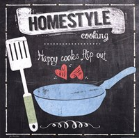Homestyle Cooking Framed Print