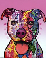 Cherish The Pitbull Fine Art Print