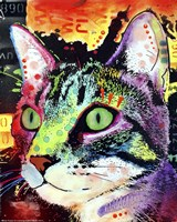 Curiosity Cat Fine Art Print