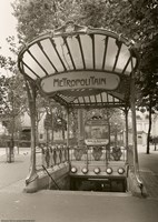 Metropolitain (Paris) I Fine Art Print