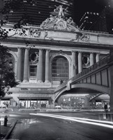 Grand Central Night Framed Print