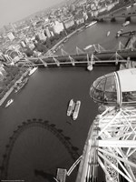 London Eye III Framed Print