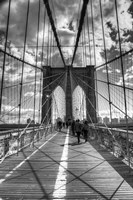 Brooklyn Bridge HDR 2 Fine Art Print
