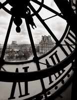 Big Clock Fine Art Print