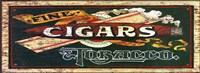 Fine Cigars Fine Art Print
