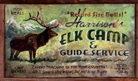 Elk Camp Fine Art Print