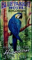 Blue Parrot Fine Art Print