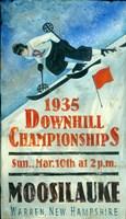 Downhill Championship Fine Art Print