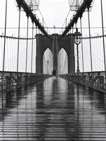 Brooklyn Bridge I Framed Print