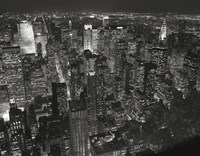 Night Skyline Fine Art Print