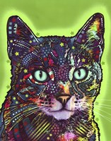Watchful Cat Fine Art Print