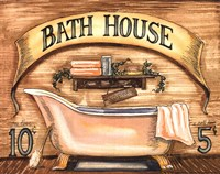 Bath House Fine Art Print