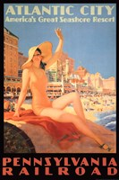 Atlantic City - Pennsylvania Railroad Fine Art Print