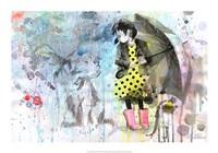 Rain Dog Fine Art Print