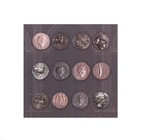 Roman Coins II Fine Art Print