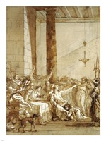 Christ at Supper with Simon the Pharisee Fine Art Print