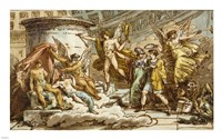 Allegory on the Life of Canova Fine Art Print
