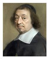 Portrait of Monseigneur Louis Doni d'Attichy, Bishop of Riez Fine Art Print