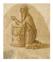 The Virgin Annunciate Fine Art Print