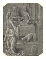 Salome with the Head of John the Baptist Fine Art Print