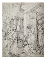 Christ Taking Leave of His Mother Fine Art Print