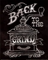 Back to the Grind No Border Framed Print
