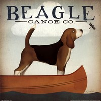 Beagle Canoe Co Framed Print