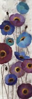 Bold Anemones Panel II Fine Art Print