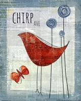 Chirp Ave Fine Art Print